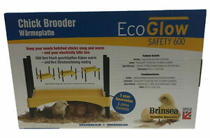 Brinsea Ecoglow Safety 600 Brooder for Chicks Or Ducklings