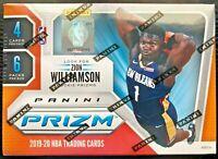 2019-20 Panini Prizm Basketball Blaster Box ZION WILLIAMSON JA MORANT ROOKIE