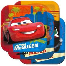 Cars 2 Luncheon Dinner Square Plates 8 Per Package Birthday Party Supplies New