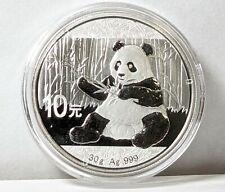 2017 Chinese Silver Panda 30g UNC - 187169S