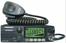 Top Seller!!  President McKinley CB Radio, USB/LSB/AM + Weather. 12 or 24 volt.