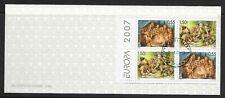 Europa cept, Bulgaria 2007, mié. 4842/4843, markenheftchen con sello, cmh-041