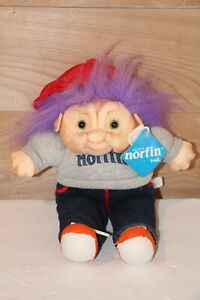 1992 Troll Doll Coach w/ Whistle ADOPT A NORFIN International Silver Co. w/ Tags