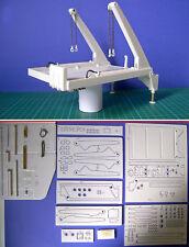 Polystyrol Modell Bausatz Absetzkipper für Youngtimer 1/24 1:24 CNC Tipper (01)