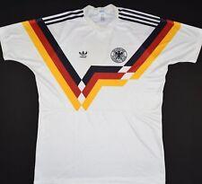 1990-1992 Alemania Adidas Hogar Camiseta de fútbol (tamaño L)