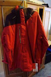 SCOTT MORELLO SNOWBOARD  JACKET RED