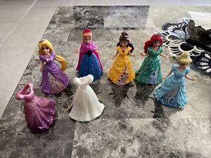 5 Piece Disney Cinderella Rapunzel Anna Belle Ariel Magiclip 2 Extra Dresses