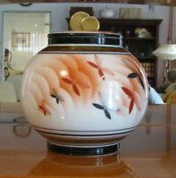 Art Deco Konfektdose im japanischen Stil von Porzellanfabrik Arzberg 1932 sf