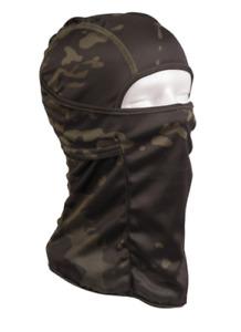 Cagoule Hublot Tactique Ouverte Multitarn® Black Camouflage
