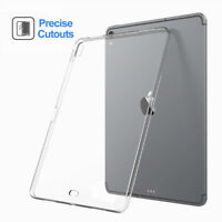 For Apple iPad Pro 12.9 11 Inch 2018 Thin Silicone Transparent Clear Case Cover