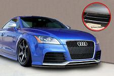 Spoiler Anteriore Labbro Spoiler spada ABS per Audi TT RS 8j con ABE NERO LUCIDO