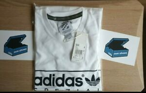 adidas SPZL T-Shirt  MEDIUM White  BNWT -AW20 (GK5733) Spezial PTP 21.5'