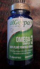 alGeepa OMEGA-3 Complex dietary supplement 30 vegan softgels Almega