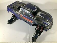 Traxxas T-Maxx 3.3/2.5 Slider Chassis, Includes Working Servos and Bash Body