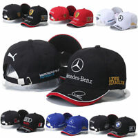 Mercedes-Benz² Logo AMG Car Cap Sport Baseball Hat outdoor Adjustab