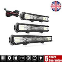 4x4 Car 5D LED Work Light Bar Spot Flood Combo Offroad Roof Lights Driving Lamp