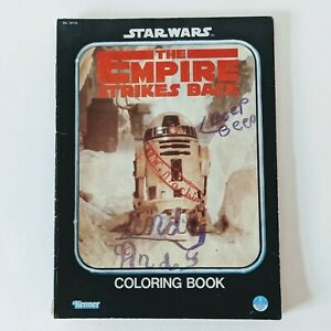 Vintage Coloring Book Star Wars Empire Strikes Back From 1980