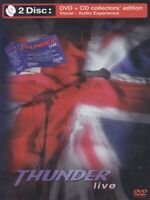 THUNDER LIVE LONDON + WOLVERHAMPTON COLLECTORS EDITION CD + DVD NEW SEALED