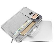 MacBook Pro 13 Shoulder Bag Case Durable Polyester Handbag Briefcase Sleeve Gray