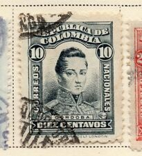 Colombia 1917 Early Issue Fine Used 10c. 172787