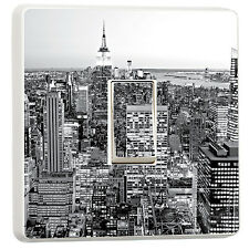 New York Black and white light switch cover empire state (17926178) cityscape