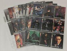 Batman Forever Fleer 1995 Trading Card Lot of 64