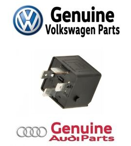 For Audi 100 200 VW Passat Auxiliary Engine Cooling Fan Relay Genuine 4H0951253A