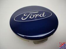 "Genuine Factory OEM Ford Wheel Center Hub Cap Blue 6M21-1003-AA 2-1/8"""