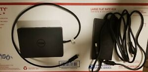 Dell USB Type C Dock WD15 K17A Laptop Docking Station with 130w AC Adapter