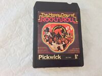 The happy days of rock and roll. 8-Track Tape. Untested As Is. See Description.