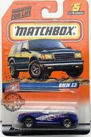 Matchbox 1998 STARS /& STRIPES BMW Z3 5//75