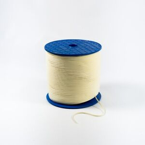 5mm Cream Faux Suede Cord/ String Tassel Thonging - Decorations Craft