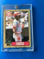 1987 Topps Barry Larkin RC #648 Reds Mint HOF