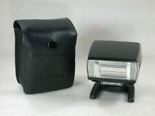 Olympus T20 Electronic Flash + Case, For Olympus OM Series Cameras
