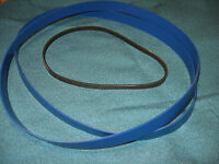 2 BLUE MAX URETHANE BAND SAW TIRES REPLACES RIKON C10-421 BAND SAW TIRES