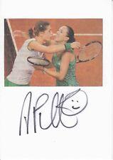 Andrea Petkovic  Tennis  Karte original signiert 369515