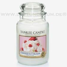 Runde Deko-Kerzen & -Teelichter mit Erdbeer-Aroma