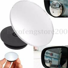 Universal Car Wide Angle Convex Rear Side View Blind Spot Rearview & Side Mirror