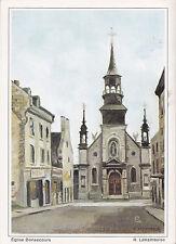 Église Bonsecours MONTREAL Quebec Canada Carte Postale Signée R. Laframboise