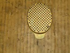 ASPERA LAV/TECUMSEH/FLYMO/SUFFOLK PUNCH/ATCO  ENGINE AIR FILTER END COVER-GOLD