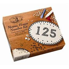 MOSAIC CERAMIC TILE HOUSE NUMBER KIT HOUSE OF CRAFTS ANY NUMBER WEATHERPROOF