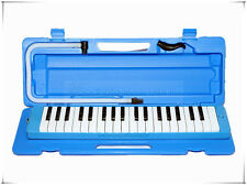 Woodnote MLK-37BL Beautiful Blue 37 Key Melodica with Hard Case