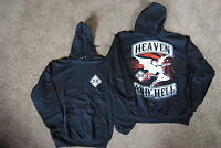 HEAVEN & HELL CHOPPER HOODIE NEW DIO BLACK SABBATH TONY IOMMI GEEZER BUTLER