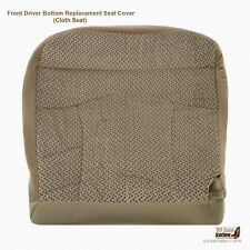 1999 2000 Ford F150 XLT 4X4 2WD DRIVER Bottom Tan Cloth Replacement Seat Cover