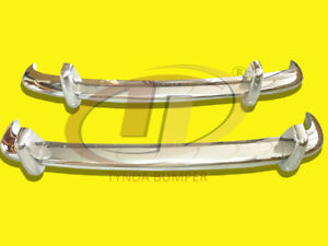 BUMPERS VW TYPE 3 1963-1969 STAINLESS STEEL POLISHED SUS 304