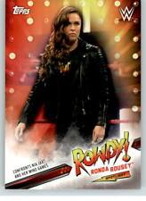 2019 WWE Raw Spotlight #12 Ronda Rousey