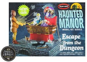 POL972, Polar Lights. HAUNTED MANSION: Escape from the Dungeon. Scale 1:12. NEW