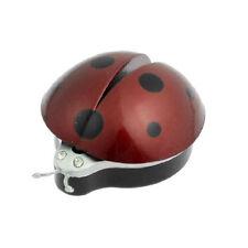New Dark Red Plastic Car Air Vent Ladybug Design Fragrance Purifier Freshner LW