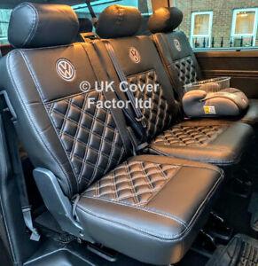 SECOND ROW T5 T6 KOMBI  SINGLE DOUBLE / TRIPLE PREMIUM BENTLEY SEAT COVERS