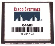 Cisco 64MB Flash with IOS 15 for Cisco 1841 Cisco 64MB Compact Flash for 1841